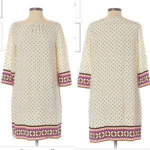 Fossil Sz Sm 100% Silk Shift Dress